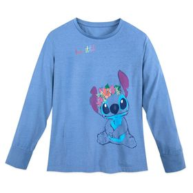 Disney Stitch Long Sleeve T-Shirt for Women