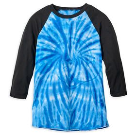 Disney Mickey Mouse Tie-Dye Baseball T-Shirt for M