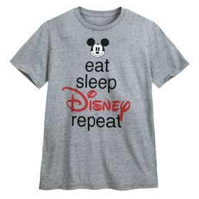 Disney Mickey Mouse ''Eat Sleep Disney'' T-Shirt f