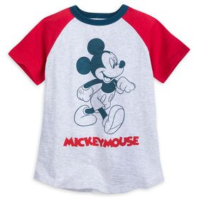 Disney Mickey Mouse Raglan T-Shirt for Boys – Walt