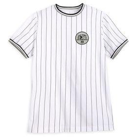 Disney Mickey Mouse Striped Baseball T-Shirt for M