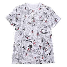 Disney Mickey Mouse Comic Strip T-Shirt for Men –
