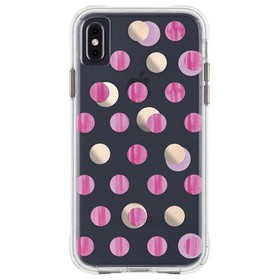 Case-Mate iPhone Xs Max Wallpapers Pink Dot Case