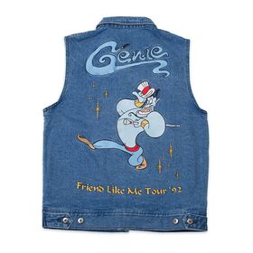 Disney Genie Denim Vest for Adults by Cakeworthy –