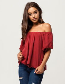 VOLCOM Sparks Fly Womens Top_