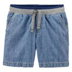 Toddler Boy Carter's® Pull-On Chambray Dock Shorts