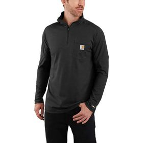 Carhartt TK255 Force Relaxed Fit 1/4-Zip Pocket T-