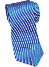 Esquire Blue Stripe Narrow Tie