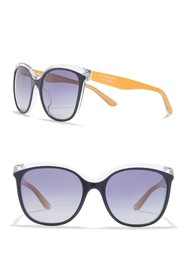 Burberry 55mm Butterfly Sunglasses