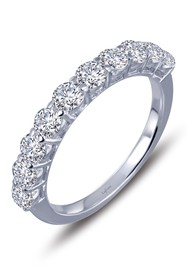 LaFonn Platinum Bonded Sterling Silver Simulated D