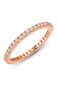 LaFonn Rose Gold Plated Sterling Silver Simulated