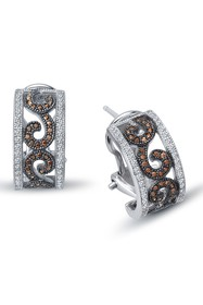 LaFonn Platinum Plated Sterling Silver Micro Pave