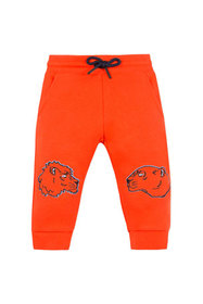 Kenzo Lion & Tiger Embroidered Sweatpants, Size 6-