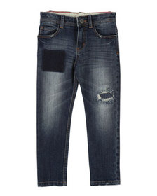 Little Marc Jacobs Cool Effects Denim Trousers, Si