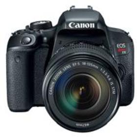 Canon EOS Rebel T7i DSLR with 18-135mm STM Lens