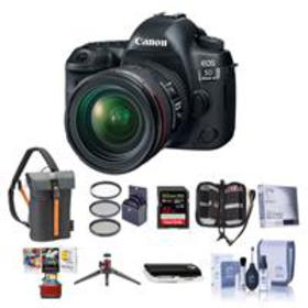 Canon EOS 5D Mark IV DSLR with 24-70mm Lens with F