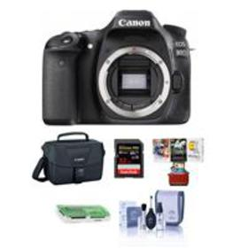 Canon EOS 80D DSLR Body and Free Mac Accessories