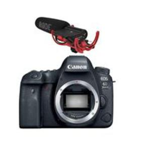 Canon EOS 6D Mark II DSLR Body With RODE VideoMic