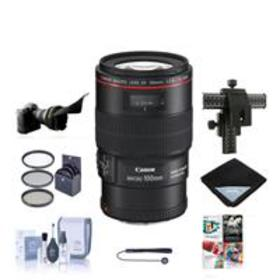 Canon EF 100mm f/2.8L IS USM Macro Lens USA - with