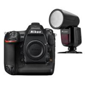 Nikon D5 DSLR CF Version Body With Flashpoint Zoom