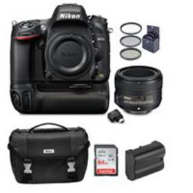 Nikon D610 DSLR Camera with 50mm f/1.8G Lens With