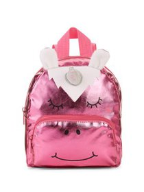 "Carried Away Girls' 8"" Pink Unicorn Backpack"