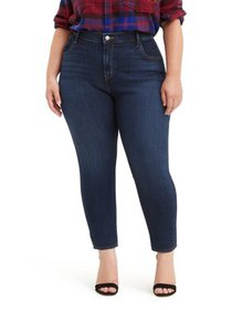 Levis Women's Plus Size High Rise 711 Ankle Skinny