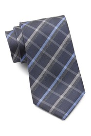 Kenneth Cole Reaction Stone Plaid Tie