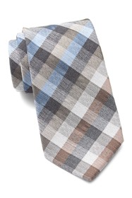 Kenneth Cole Reaction Stone Check Tie