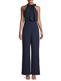 Vince Camuto Halter Bow Neck Jumpsuit NAVY