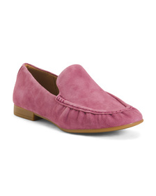 Reveal Designer Slip On Suede Loafers