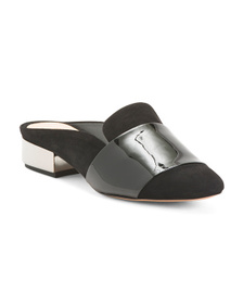 SCHUTZ Made In Brazil Leather Mules