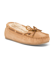 MINNETONKA Allie Junior Trapper Slippers