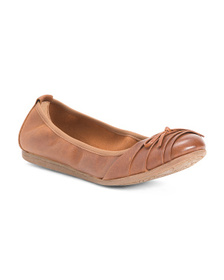 BORN Leather Comfort Flats