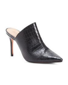 SCHUTZ Made In Brazil Exotic Leather Pointy Toe Mu