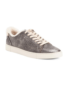 FRYE Shearling Leather Fashion Sneakers