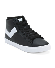 PONY Classic Hi Leather Sneakers