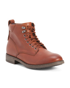 EASTLAND Men's Leather Lace Up Boots on sale at Marshalls