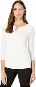 Calvin Klein Long Sleeve Top with Chainmail