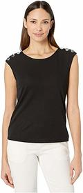 Calvin Klein Sleeveless Top with Buttons on Should