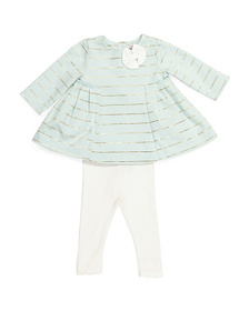 CATHERINE MALANDRINO Baby Girls Tunic & Legging Se