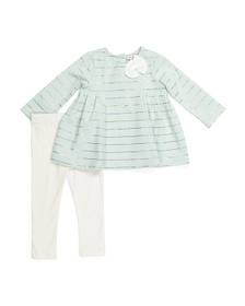 CATHERINE MALANDRINO Infant Girls Tunic & Legging