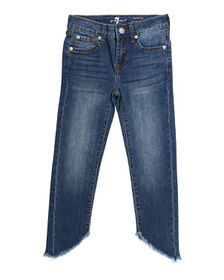 7 FOR ALL MANKIND Big Girls Ankle Skinny Jeans