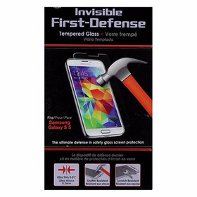 Qmadix Invisible First-Defense Tempered Glass for