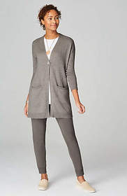 Pure Jill Relaxed V-Neck Cardi