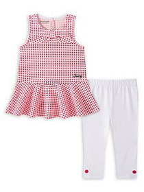 Juicy Couture Little Girl's 2-Piece Tunic & Cotton