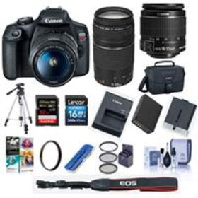 Canon EOS Rebel T7 DSLR Camera with EF-S 18-55mm a