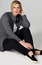Fit Out & About Shirttail Jacket