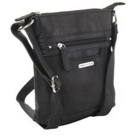 Stone Mountain Nubuck Talia Crossbody - Black
