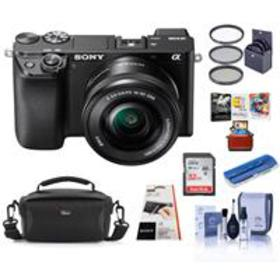 Sony Alpha a6100 Mirrorless Digital Camera with 16